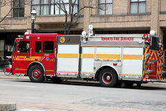 Fire Fighters Truck Royalty Free Stock Images