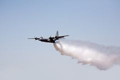 Fire fighting aircraft Royalty Free Stock Photos