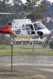 Fire fighting chopper 3 Royalty Free Stock Photo