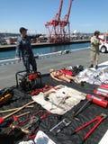 Fire fighting equipment Stock Image