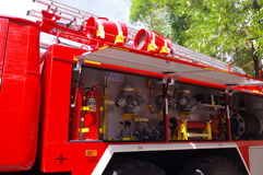 Fire fighting equipment Stock Images