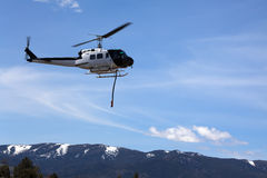 Fire Fighting Helicopter Stock Images