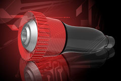 Fire fighting nozzle. Highly quality fire fighting nozzle in color background Royalty Free Stock Photos