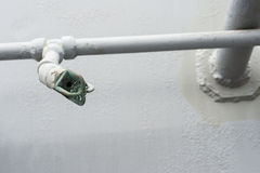The fire fighting sprinkler Royalty Free Stock Photo