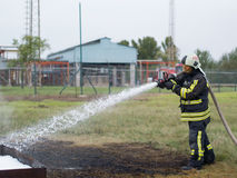 Fire-fighting Royalty Free Stock Photo
