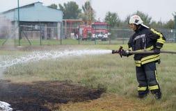 Fire-fighting Stock Photo