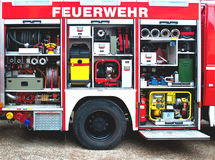 Fire fighting truck Royalty Free Stock Photography