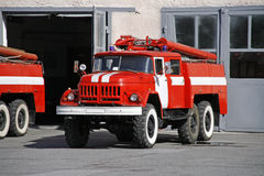 Fire-fighting vehicle Royalty Free Stock Photos