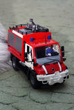 Fire-fighting vehicle Royalty Free Stock Photography