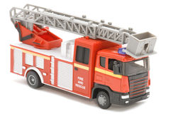 Fire fighting vehicle Royalty Free Stock Images