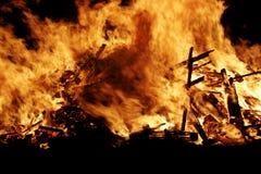 Fire fire. A close shot of a bonfire Stock Photo