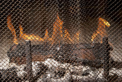 Fire & Fire Place Royalty Free Stock Photos