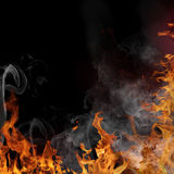 Fire flame background Royalty Free Stock Image