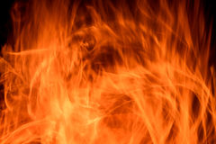 Fire flame background abstract Royalty Free Stock Photo