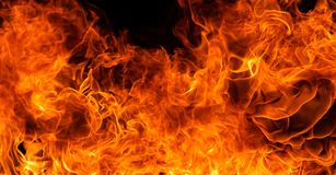 Fire flame background Stock Photos
