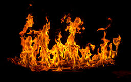 Fire flame. Royalty Free Stock Images
