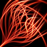 Fire flame burn background. EPS 10 Royalty Free Stock Images