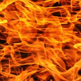 Fire flame close up. Stock Photo