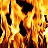 Fire flame close up Stock Photos