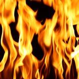 Fire flame close up Stock Photos