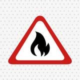 Fire flame  design. Illustration Stock Images