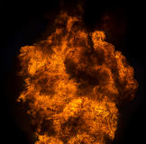 Fire flame explosion Royalty Free Stock Images