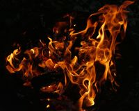 Fire, Flame, Fire Bowl, Wood Fire Royalty Free Stock Photo