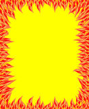 Fire flame, fire pattern Stock Photo