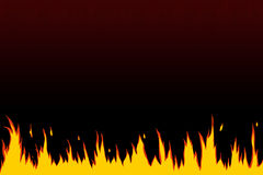 Fire flame. Fire, flames web site header / background Royalty Free Stock Photography
