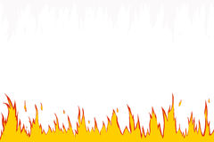 Fire flame. Fire, flames web site header / background Royalty Free Stock Images