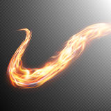 Fire flame frame template. EPS 10. Vector file included Stock Images