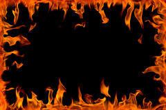 Fire flame,isolated Royalty Free Stock Photos