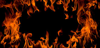 Fire flame,isolated Royalty Free Stock Photography