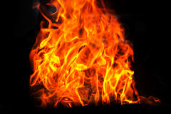 Fire and flame Royalty Free Stock Image