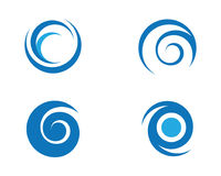 Fire flame Logo Template. Vector icon Oil, gas and energy logo concept Royalty Free Stock Photos