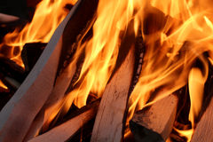 Fire and flame one Royalty Free Stock Photos