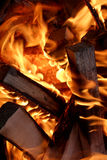 Fire and flame six Stock Photography