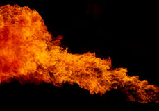 Fire flame texture background Stock Photography