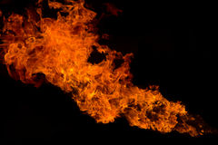 Fire flame texture background Stock Image