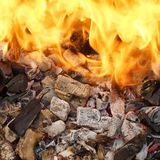 Fire and Flame Royalty Free Stock Photography