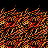 Fire flame watercolor  seamless pattern-model for design o Stock Photography