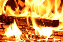 Fire, Flame, Wood Fire, Brand Royalty Free Stock Images