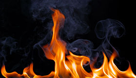 Fire Flames Stock Photography