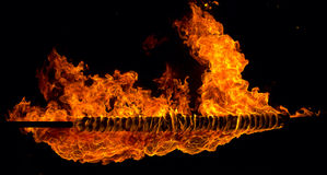 Fire, flames Stock Images