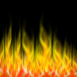 Fire flames. Abstract fire background - computer generated Stock Photo