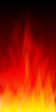 Fire flames. Abstract fire background - computer generated Stock Images