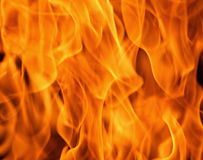 Fire flames. Blaze fire flame texture background Stock Images