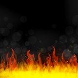 Fire - flames Royalty Free Stock Photos