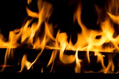 Fire and flames Stock Photos