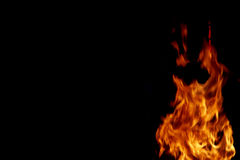 Fire flames abstract Stock Photos
